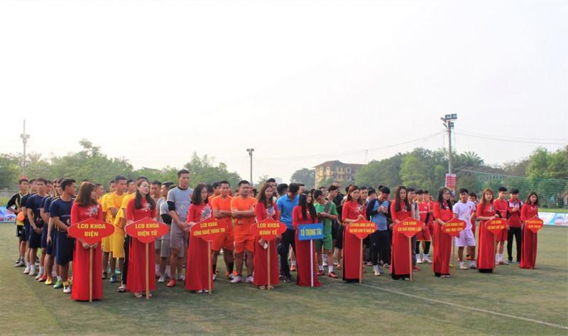 """Chính thức """"lộ diện"""" nhà tài trợ chính giải bóng đá sinh viên Trường SPKT Vinh mở rộng lần thứ I"""