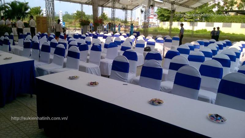 Cho thuê bàn ghế sự kiện tại hà tĩnh