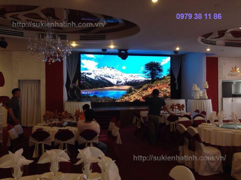 Cho thuê màn hình Led tại Hà Tĩnh