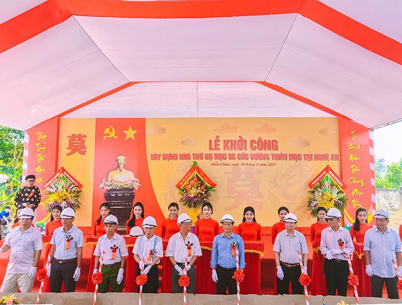 Khoi Cong Xay Dung Nha Tho Ho Mac Va Cac Vuong Trieu Mac Tai Nghe An 5