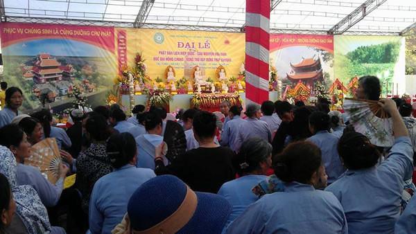 Lễ Đúc Đại Hồng Chung-Động Thổ Xây Dựng Tháp Chuông Tại Chùa Diệc