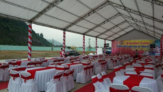 Lễ khánh thành trạm Gas tại Nghi Xuân, Hà Tĩnh