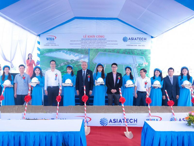 Le Khoi Cong Nha May Xu Ly Nuoc Thai Kcn Wha 88